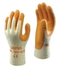 SHOWA 310 GRIP GLOVE ORANGE SIZE 10/XL
