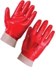 SUPERTOUCH GLOVE RED PVC K/W 23324 SIZE 10 1 PAIR