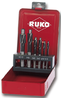 RUKO COUNTERBORES IN STEEL CASE SET OF 6