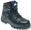Black waterproof safety boot 5200
