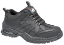 BRIGGS H2219 HIMALAYAN 4041 SAFETY TRAINER AIR BUBBLE BLACK LEATHER SIZE 9