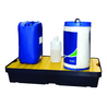 WORKLINE 165119 60 LITRE SPILL TRAY WITH PLATFORM GRID
