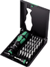 WERA KK70 SCREWDRIVER BIT 32 PIECE SET WITH HANDLE AND BIT HOLDER