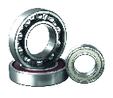 NSK Single Row Radial Ball Bearing High Temperature - Sealed