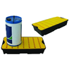 WORKLINE 165118 30 LITRE SPILL TRAY WITH PLATFORM GRID